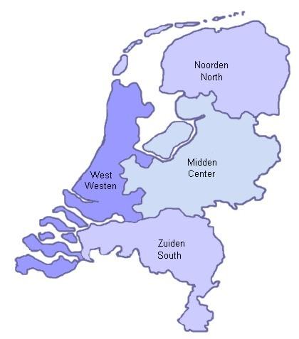Niederlande Regionen